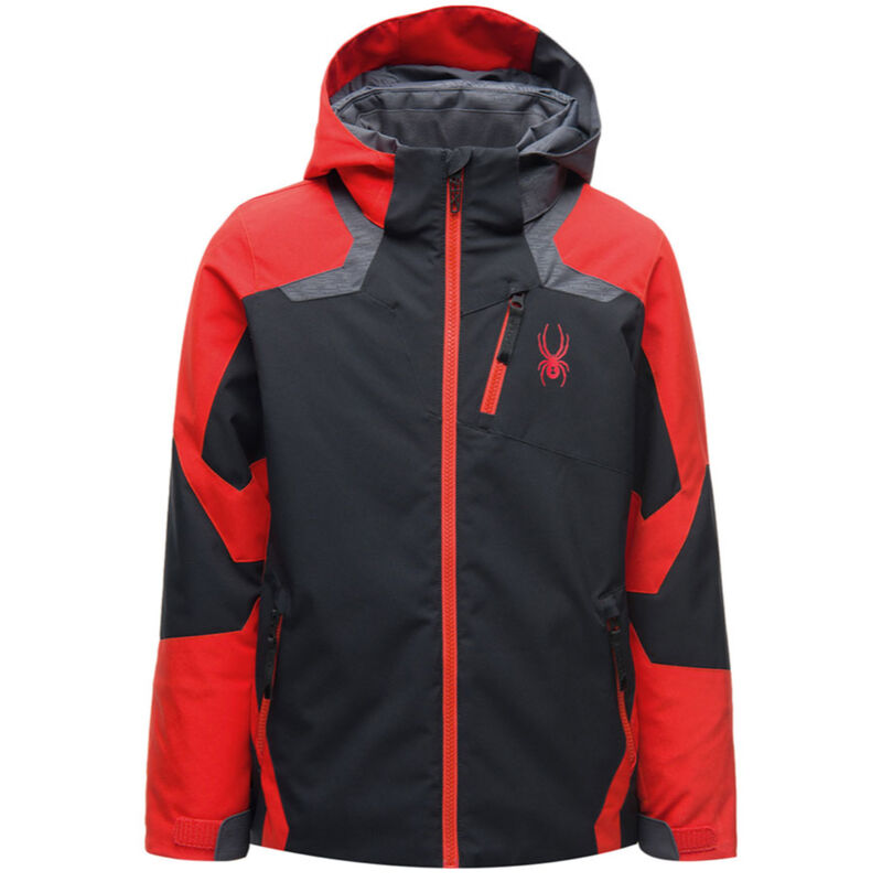 Spyder Leader Jacket - Boys 20/21 image number 0