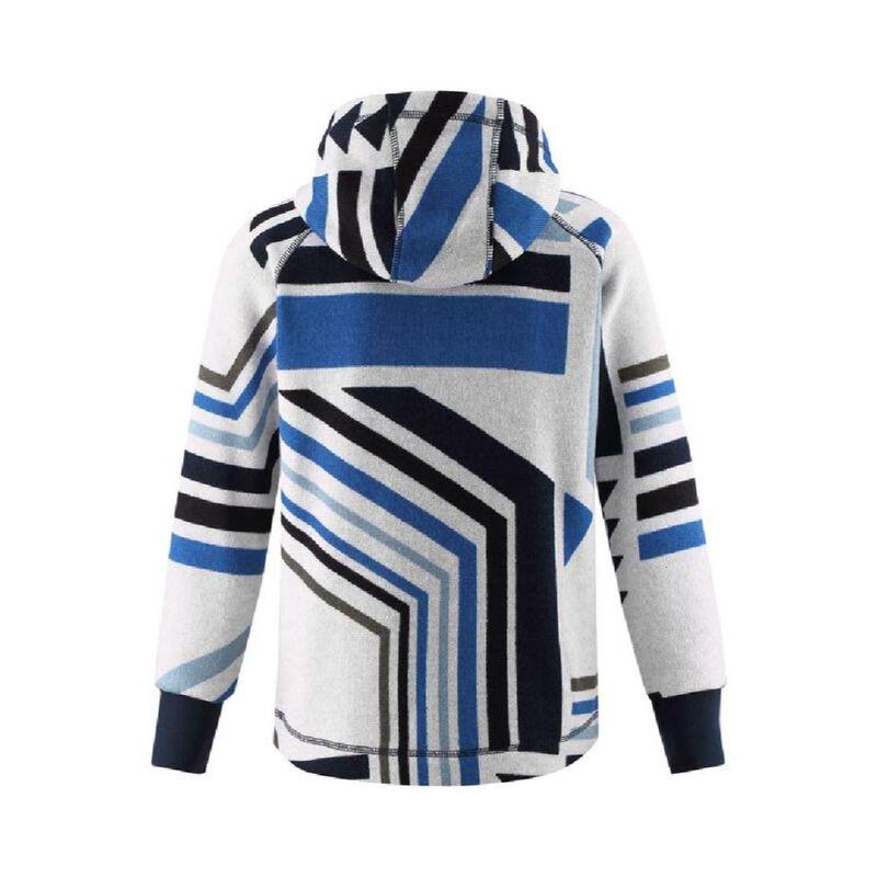 Reima Melange Knit Fleece Northern Hoodie Toddler Girls image number 1