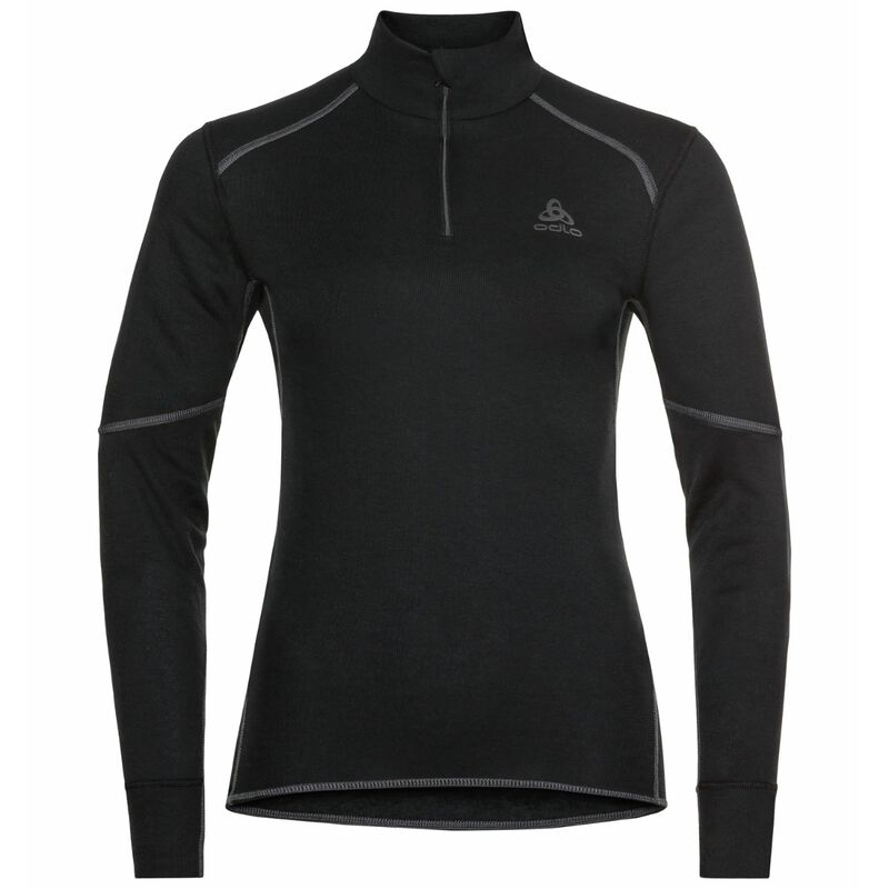 Odlo ACTIVE X-WARM ECO Half-Zip Baselayer Top - Womens 20/21 image number 0