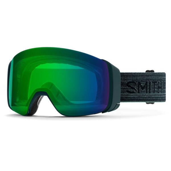 Smith 4D MAG Goggles ChromaPop Everyday Green Mirror Lens