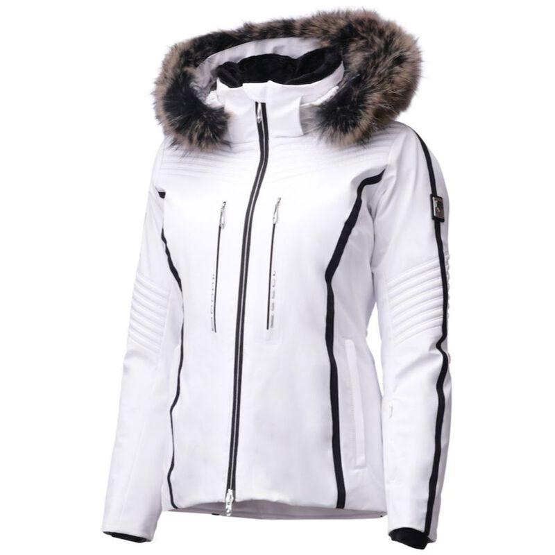 Descente Layla Jacket Real Fur Womens image number 0