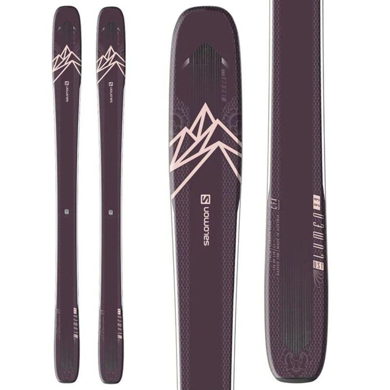 Salomon N QST Lumen 99 Skis Womens image number 0