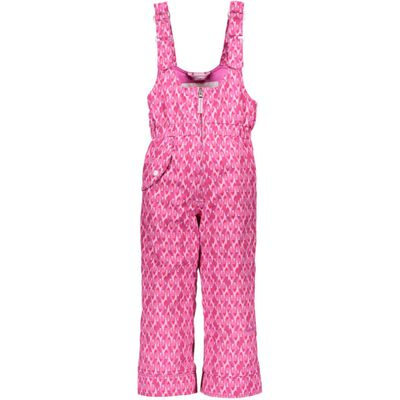 Obermeyer Snoverall Print Bib Pants - Toddler Girls