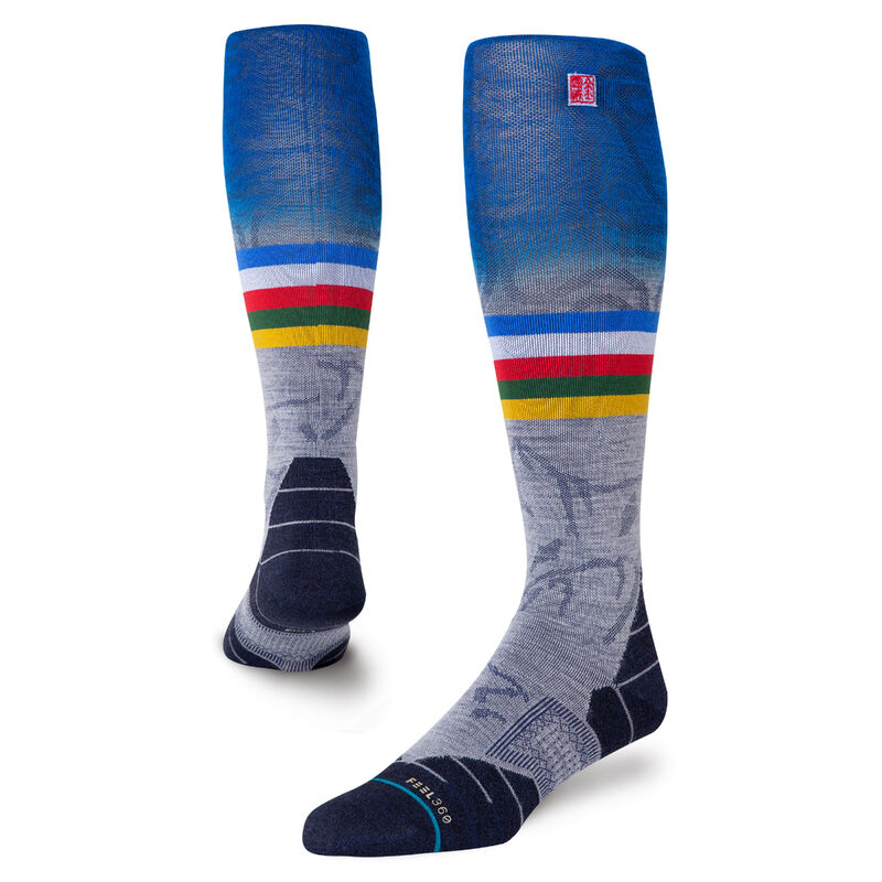 Stance Jimmy Chin 2 Socks Mens image number 0