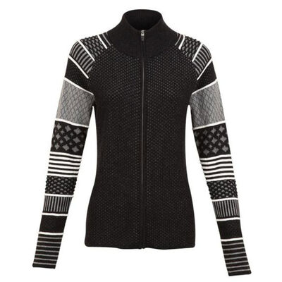 Krimson Klover Lantern Full Zip Sweater - Womens