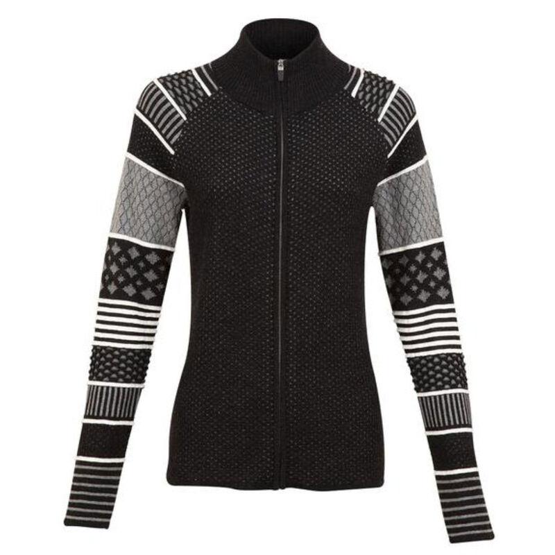 Krimson Klover Lantern Full Zip Sweater - Womens image number 0