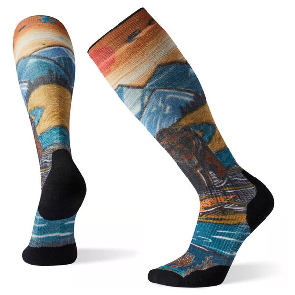 Smartwool PhD® Snow Light Elite Print Socks Mens