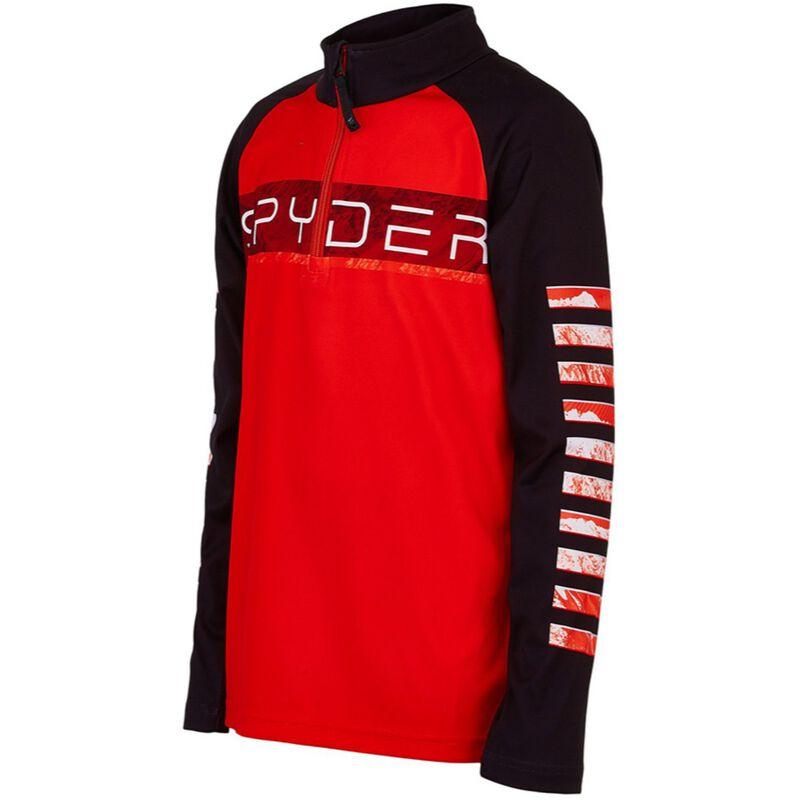 Spyder Peak Zip T-Neck Juniors image number 2