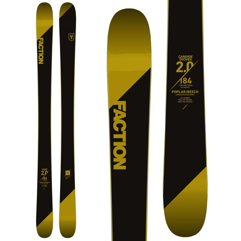Faction Candide 2.0 Skis - Mens 18/19 image number 0