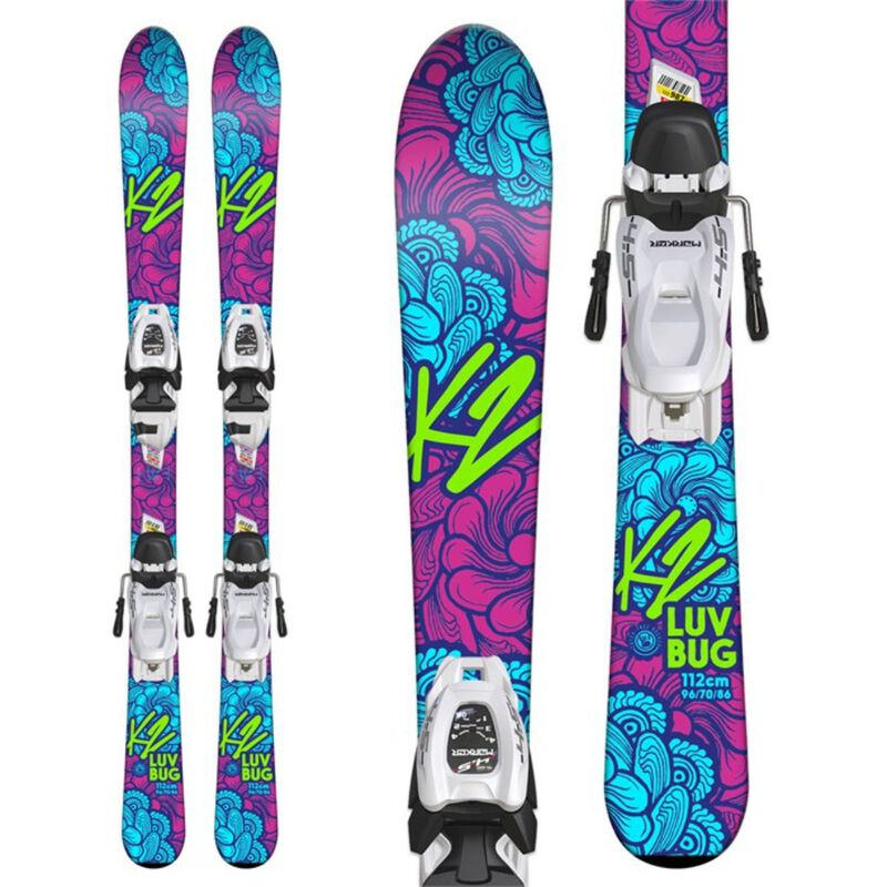 K2 Luvbug FDT 4.5 System Skis Girls image number 0