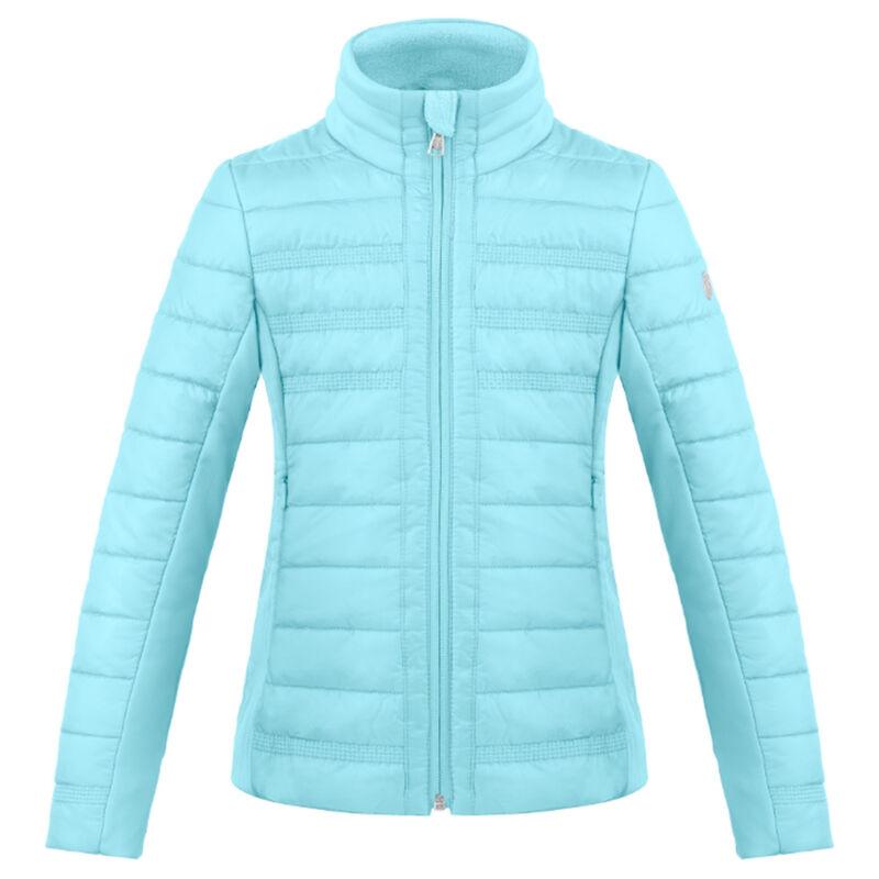 Poivre Blanc Hybrid Quilted Jacket Girls image number 0