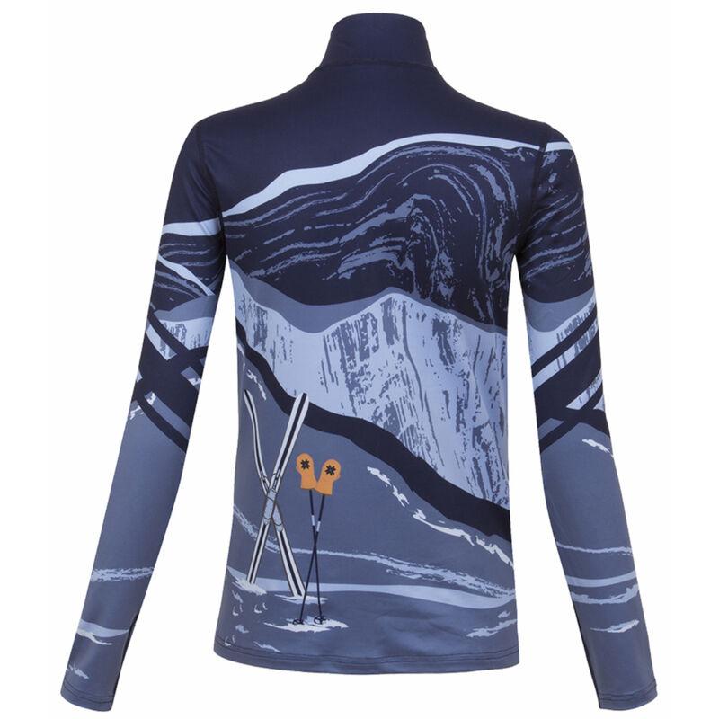 Krimson Klover Elevation Base Layer 1/4-Zip Shirt - Womens 20/21 image number 2