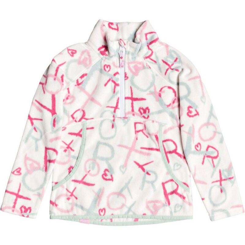 Roxy Cascade Technical Half-Zip Fleece - Toddler Girls image number 0
