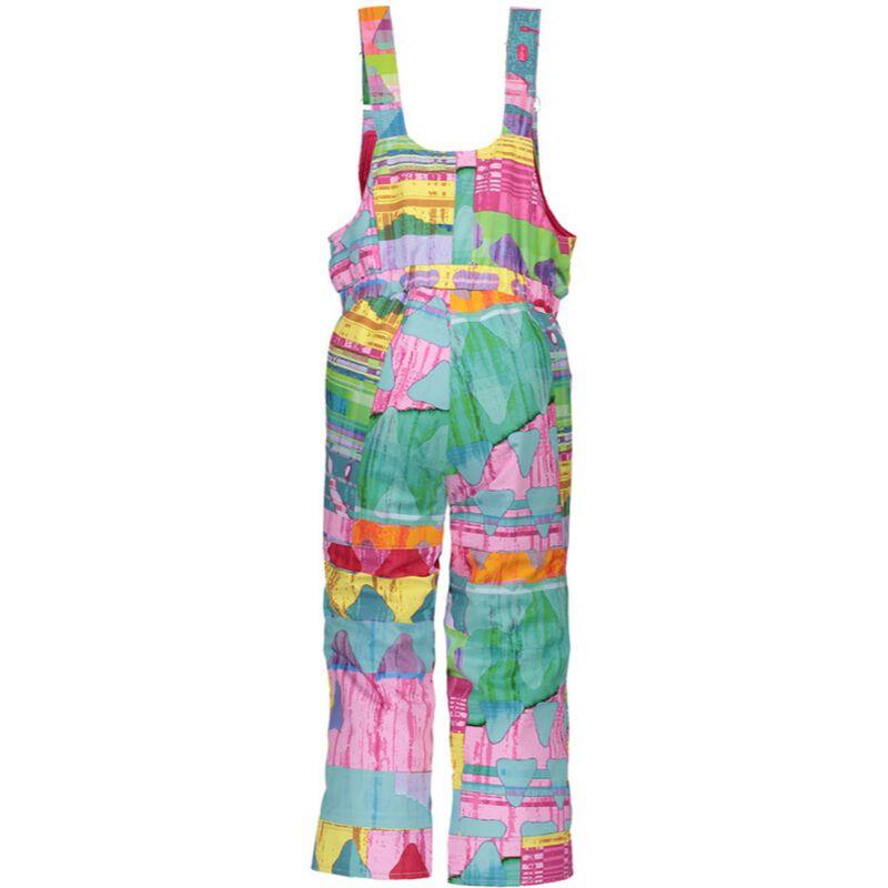 Obermeyer Snoverall Print Bib Pants - Toddler Girls-19-20 image number 1