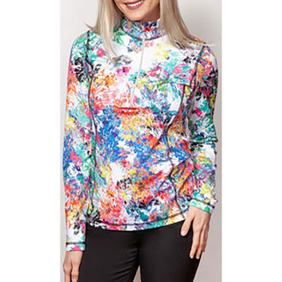 Sno Skins Micro Fiber 1/2 Zip Sweater - Womens