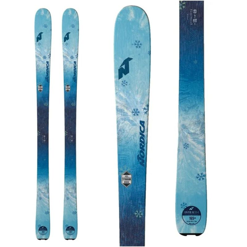 Nordica Astral 84 Skis Women's image number 0