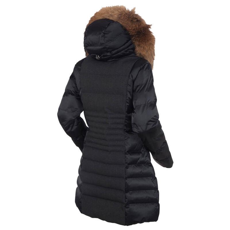 Sunice Eva Waterproof Quilted 3/4 Coat Womens image number 1