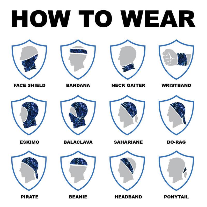 SA Company Multi-Use Face Shield - Kids 20/21 image number 1