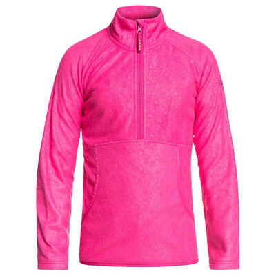 Roxy Cascade Half-Zip Polar Fleece - Junior Girls 20/21