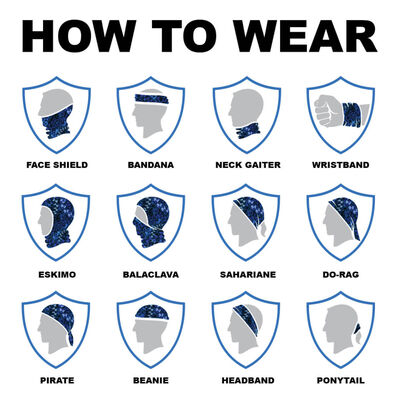 SA Company Multi-Use Face Shield - Kids 20/21
