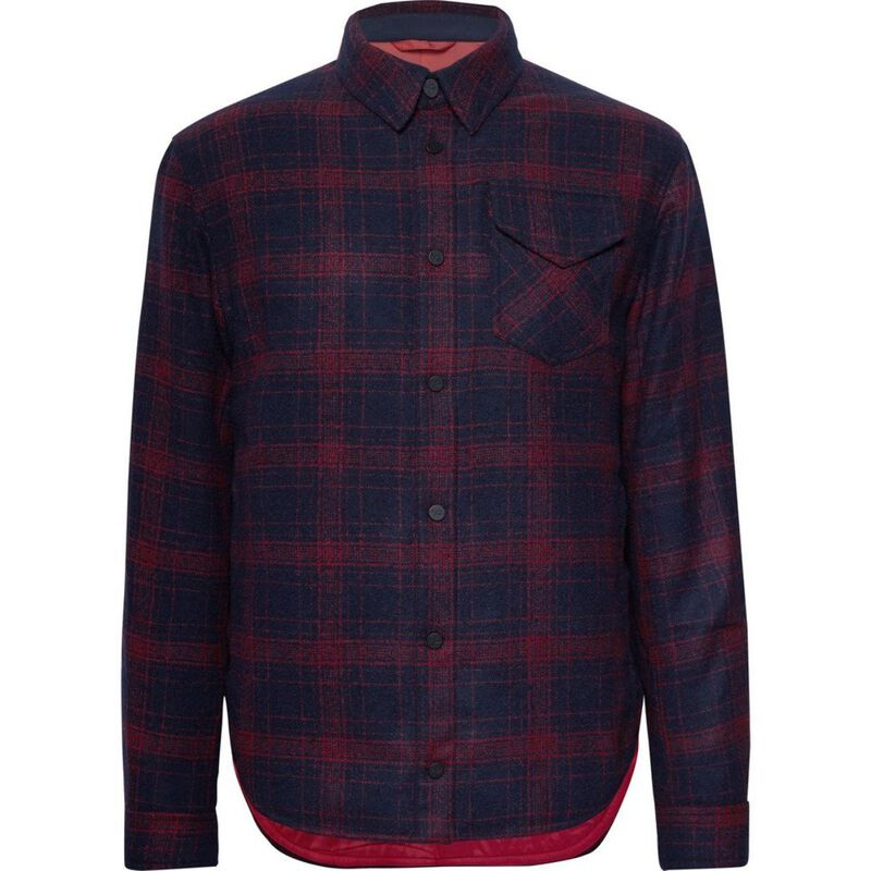 Aztech Lenado Quilted Flannel Overshirt Mens image number 0