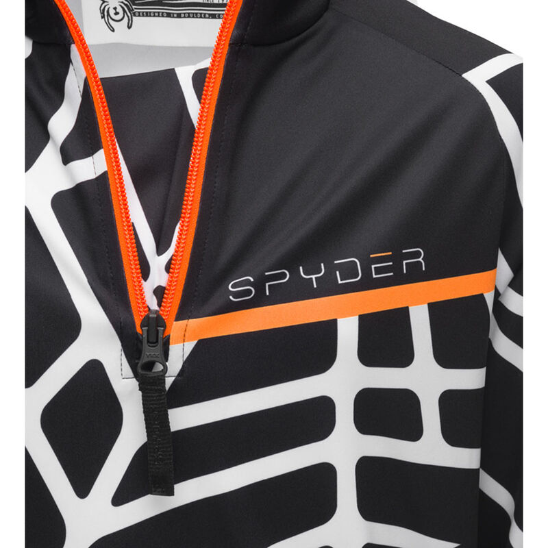 Spyder Hideout Zip T-Neck Boys image number 1