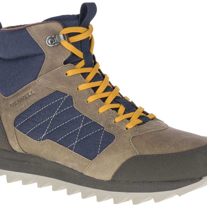 Merrell Alpine Sneaker Mid Polar Waterproof Shoe Mens image number 0