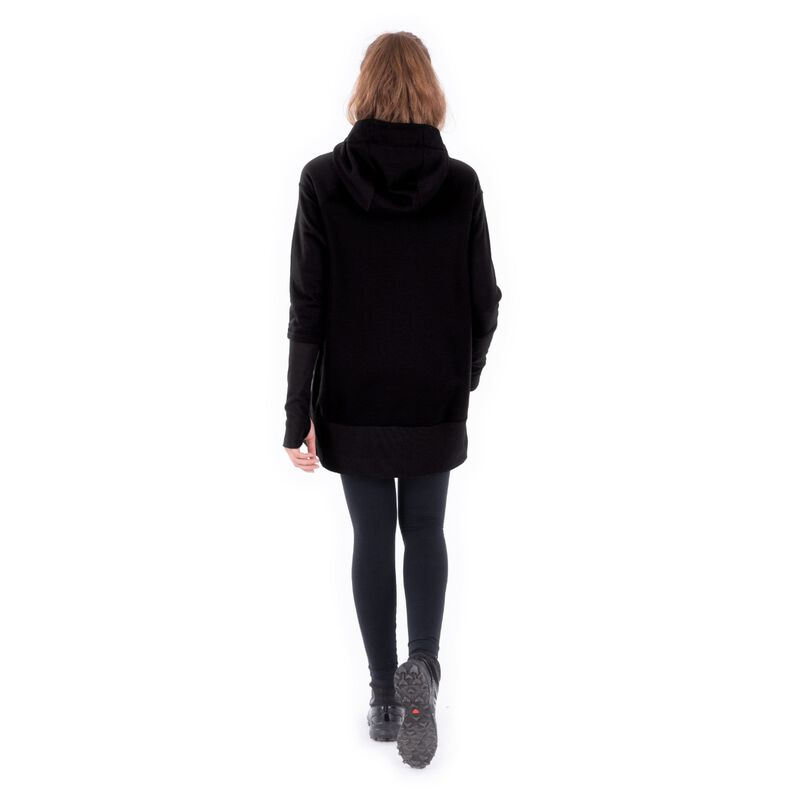 Indygena Timea French Terry Hoodie Dress Womens image number 2