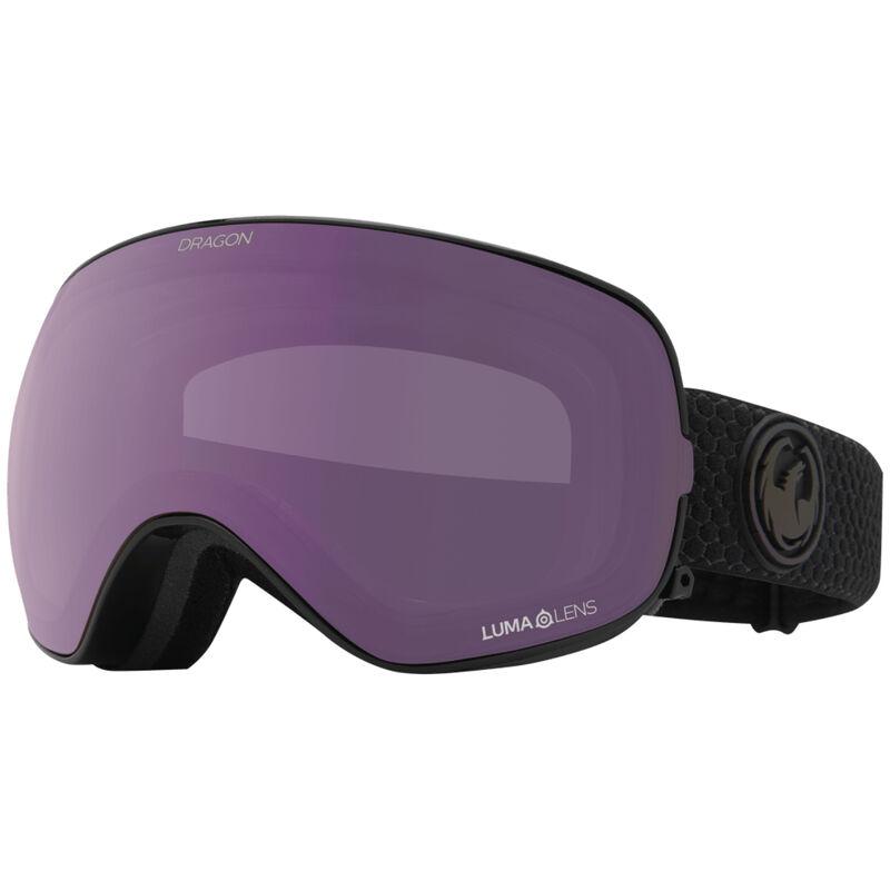 Dragon X2 Goggles + Lumalens Violet/Purple Lenses image number 0