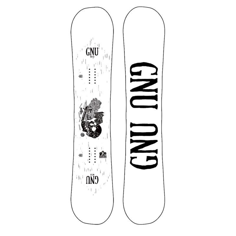 GNU RCC3 Snowboard Mens image number 3