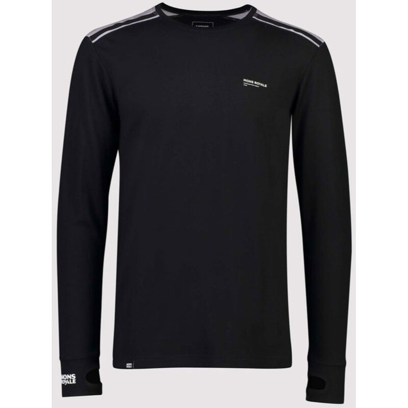 Mons Royale Alta Tech Long Sleeve Shirt- Men's image number 0
