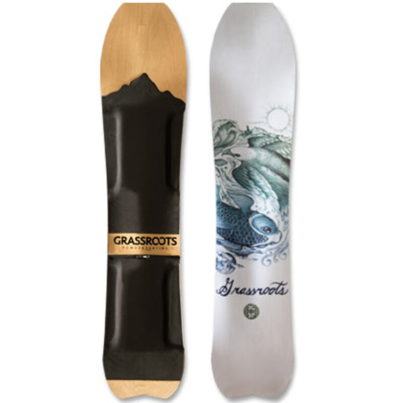 Grassroots Powdersurfing Caddy 150cm 3D Powsurfer Mens image number 1