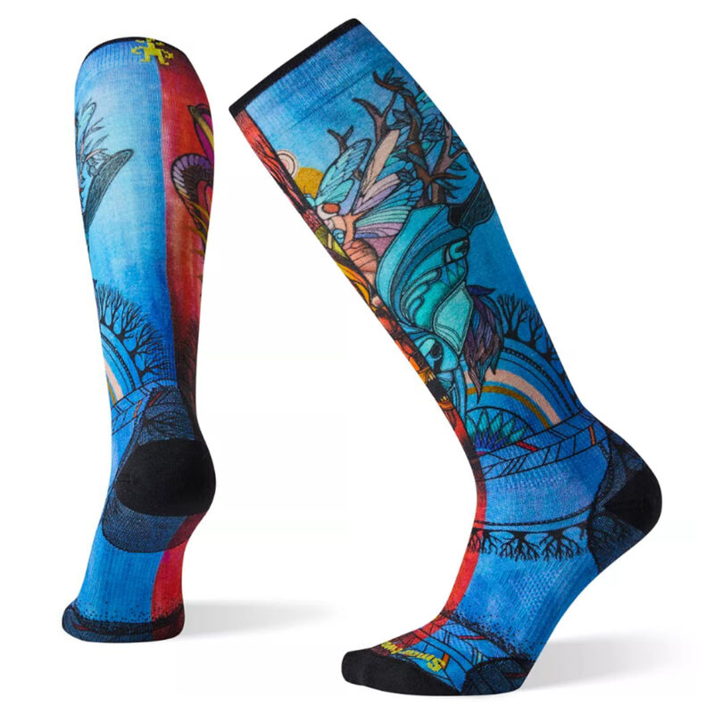 Smartwool PhD® Ski Ultra Light Print Socks Womens image number 0