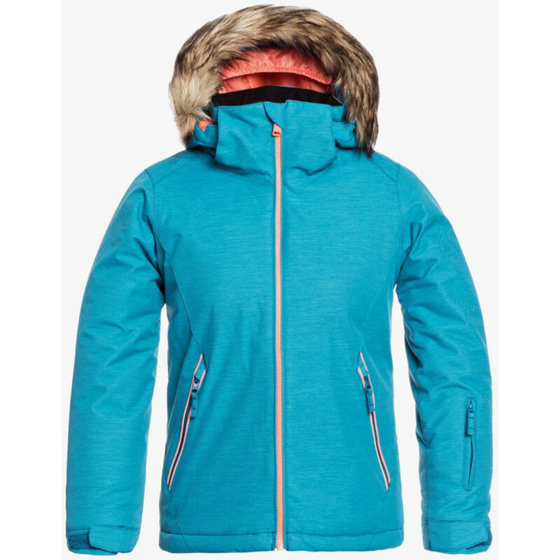 Roxy American Pie Solid Jacket - Girls 20/21 image number 0