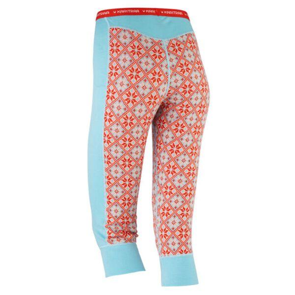 Rose Wool Capri – 100% Merino Wool Womens