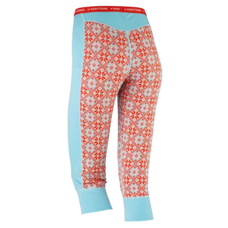 Rose Wool Capri – 100% Merino Wool Womens image number 1