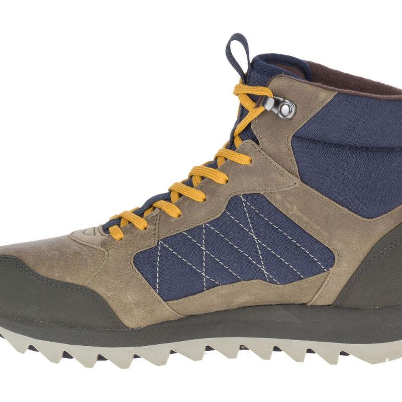 Merrell Alpine Sneaker Mid Polar Waterproof Shoe Mens image number 1
