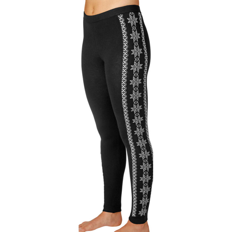 Hot Chillys Sweater Knit Printed Legging Womens image number 0