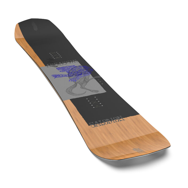 Salomon Assassin Wide Snowboard Mens image number 2