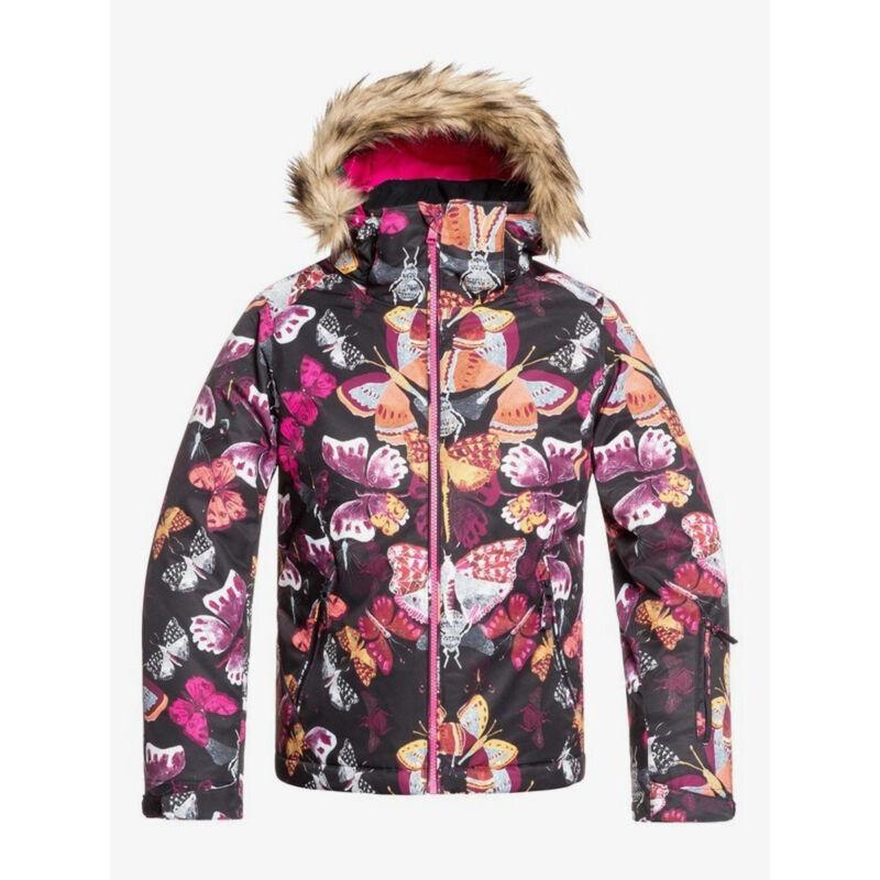 Roxy American Pie Print Jacket Girls image number 0