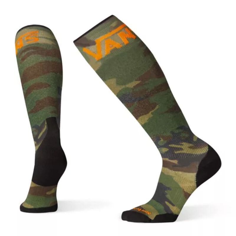 Smartwool PhD® VANS Woodland Camo Print Light Elite Socks - Mens image number 0