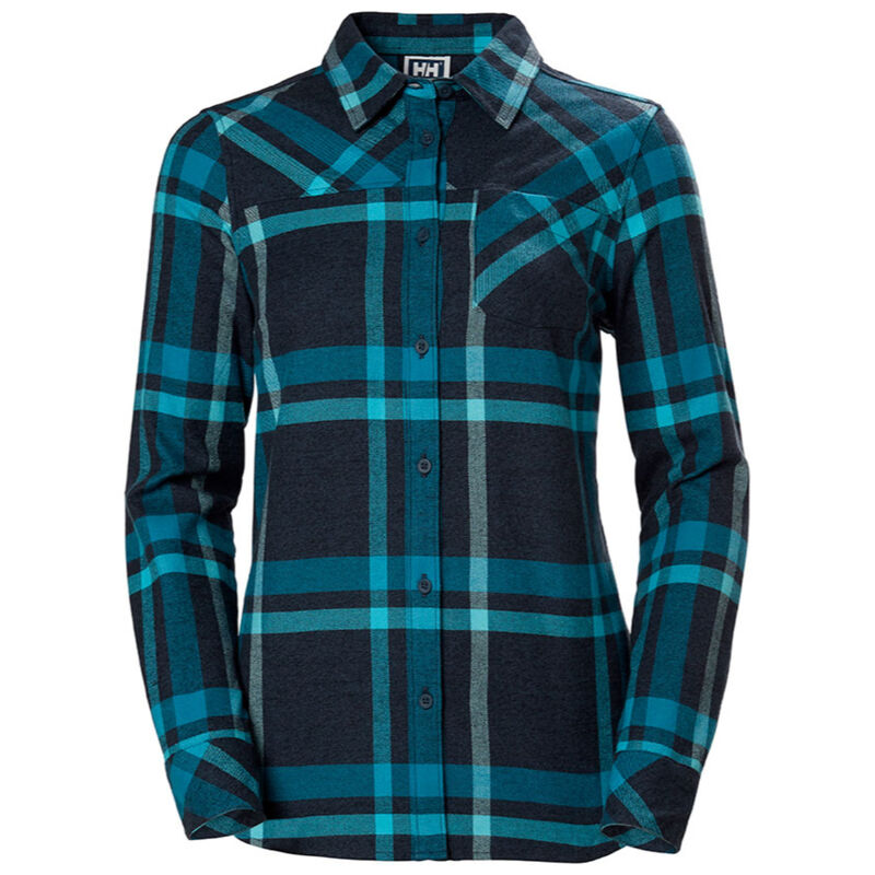 Helly Hansen Classic Check Long Sleeve Shirt - Womens image number 0