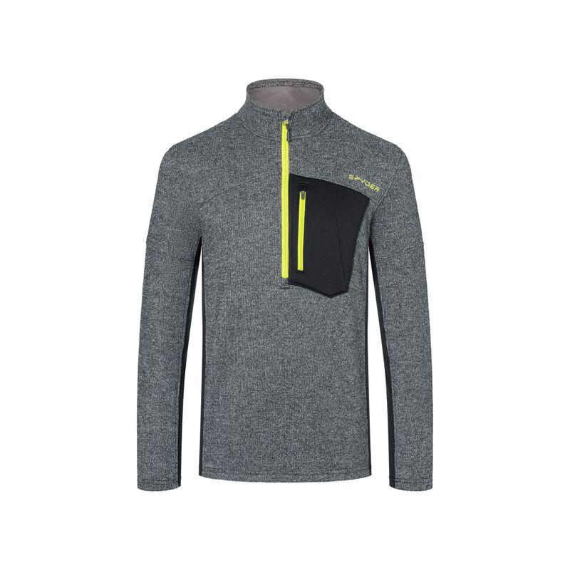 Spyder Bandit Half Zip Fleece Sweater - Mens 20/21 image number 0