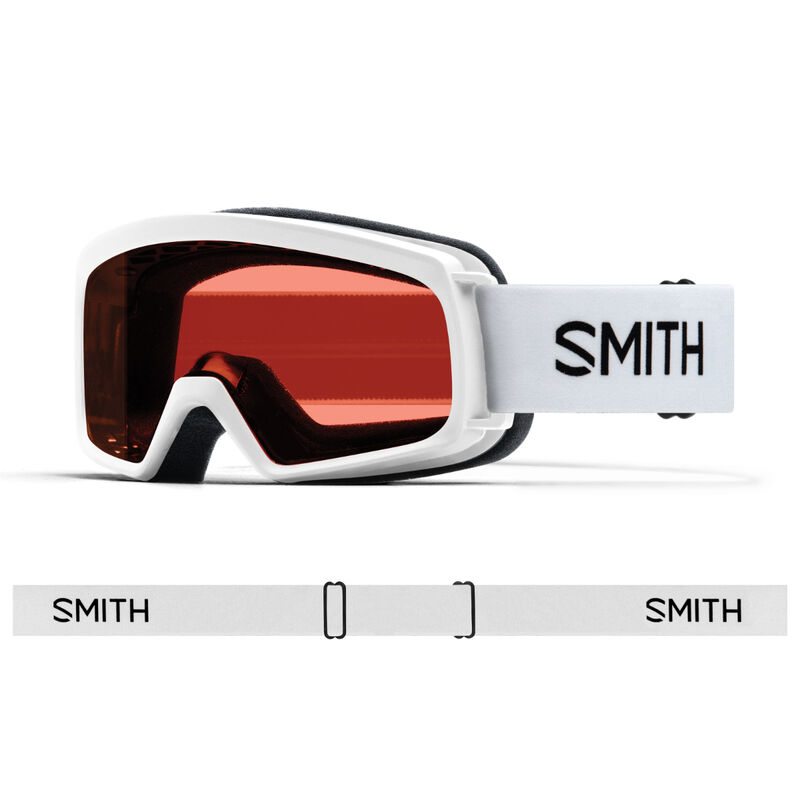 Smith Rascal RC36 White Goggles Juniors image number 0