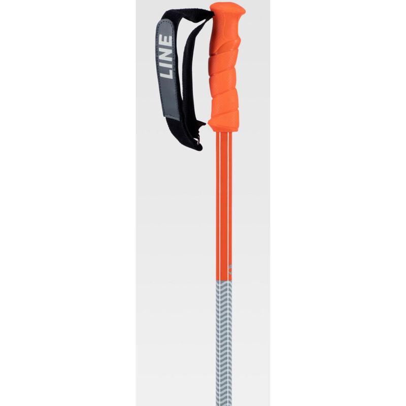 Line Grip Stick Ski Poles image number 1