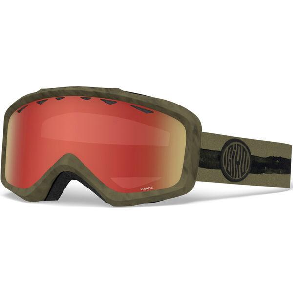 Giro Jr Grade Olive Dye Line Goggles Kids