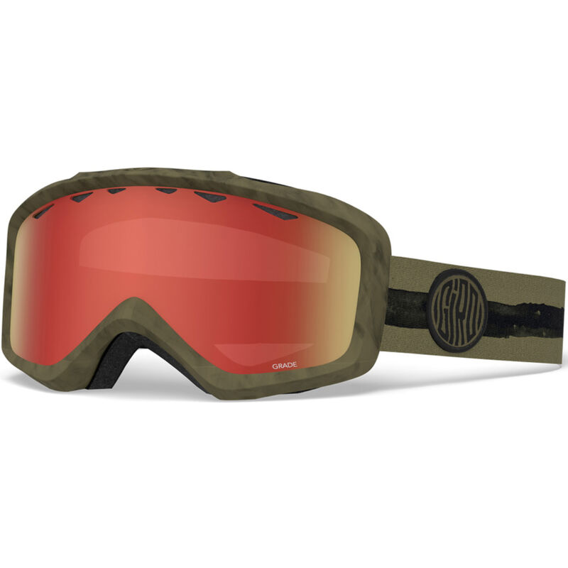 Giro Jr Grade Olive Dye Line Goggles - Kids image number 0
