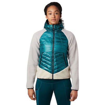 Mountain Hardwear Altius Hybrid Hoody - Womens