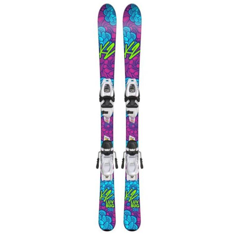 K2 Luvbug FDT 4.5 Skis Girls image number 0