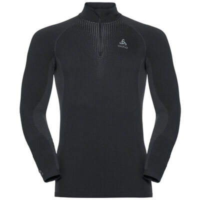 Odlo T-Neck 1/2 Zip LS Performance Warm SUW Top -  Mens